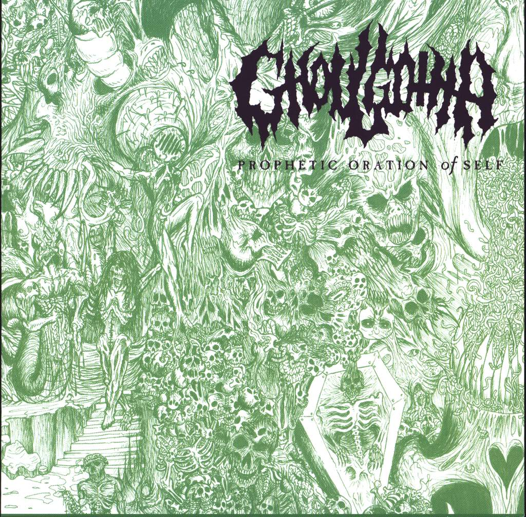 "Ghoulgotha: Prophetic Oration Of Self, 7"" Single (Vinyl)"