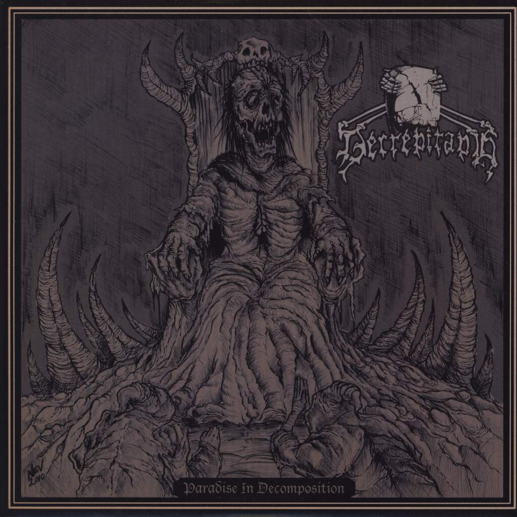 "Decrepitaph: Paradise In Decomposition / Brutal Awakening, 7"" Single (Vinyl)"