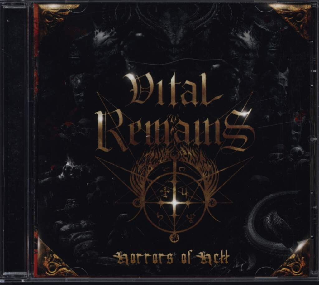 Vital Remains: Horrors Of Hell, CD