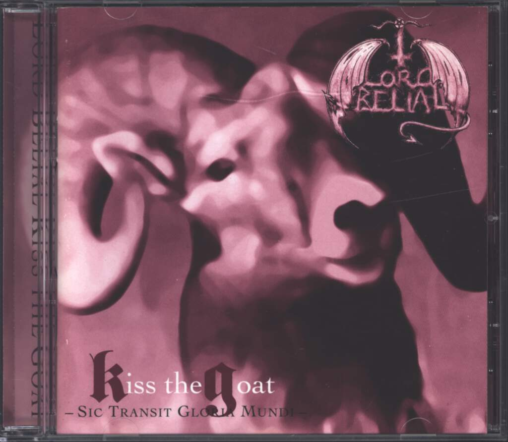 Lord Belial: Kiss The Goat, CD