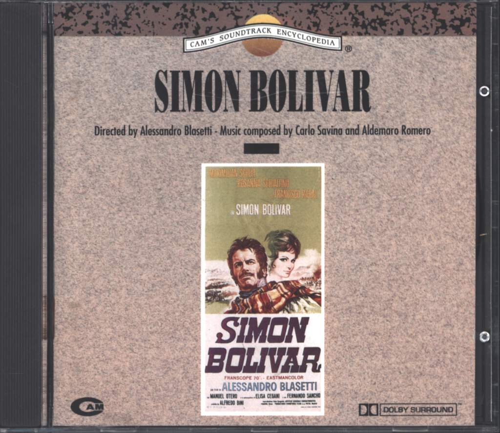 Carlo Savina: Simon Bolivar (Original Soundtrack), CD