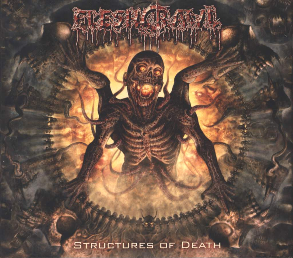 Fleshcrawl: Structures Of Death, CD