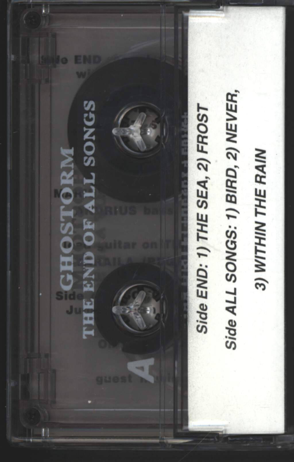 Ghostorm: The End Of All Songs, Compact Cassette