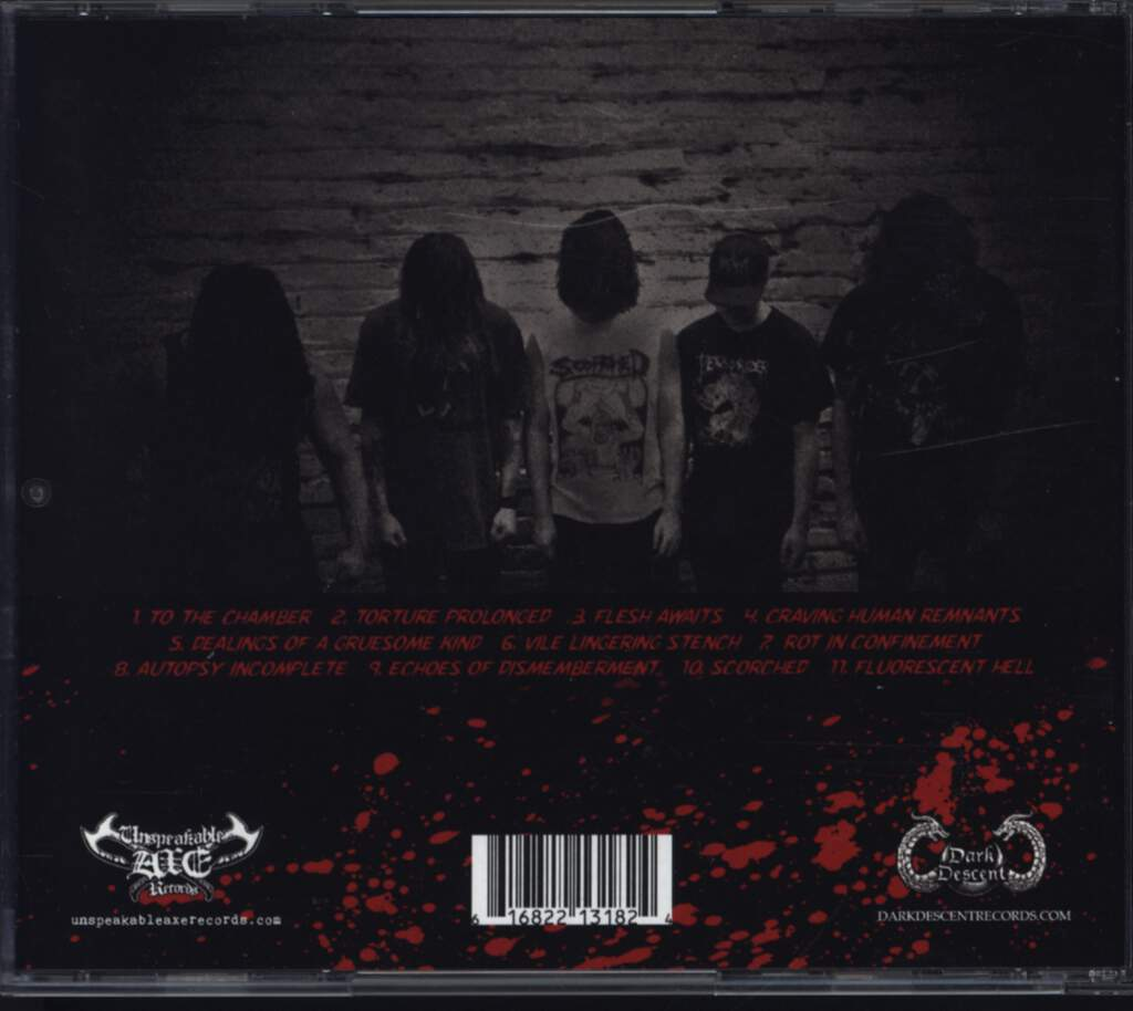 Scorched: Echoes Of Dismemberment, CD