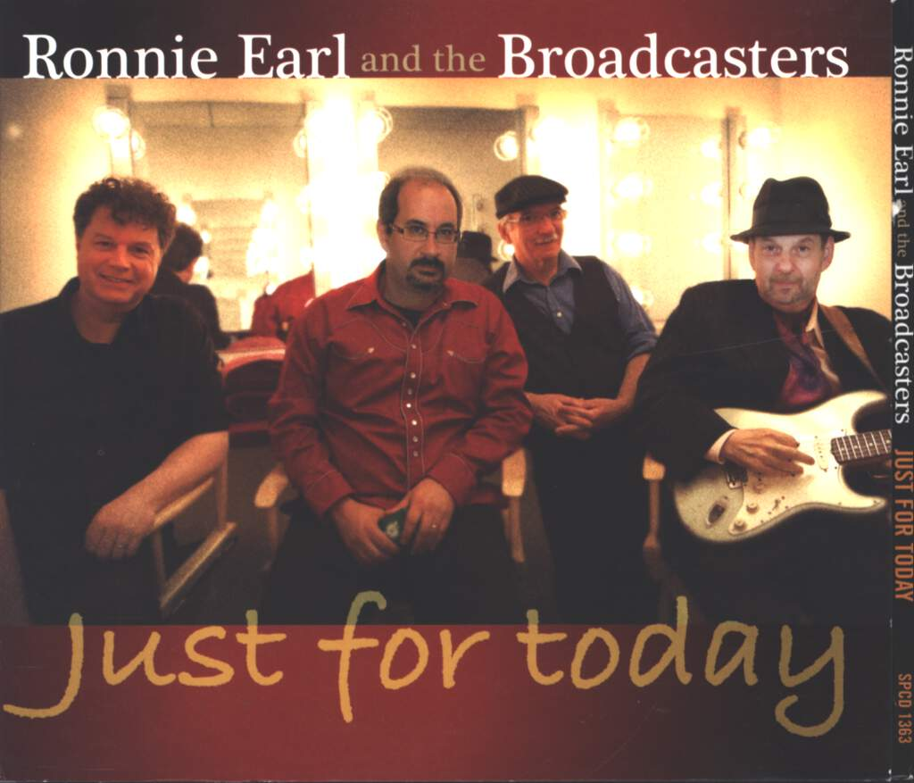 Ronnie Earl And The Broadcasters: Just For Today, CD