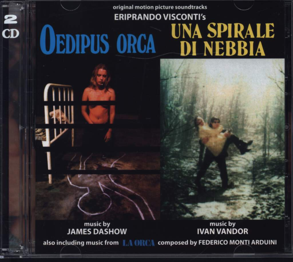 James Dashow: Oedipus Orca / La Orca / Una Spirale Di Nebbia (Original Soundtracks), CD