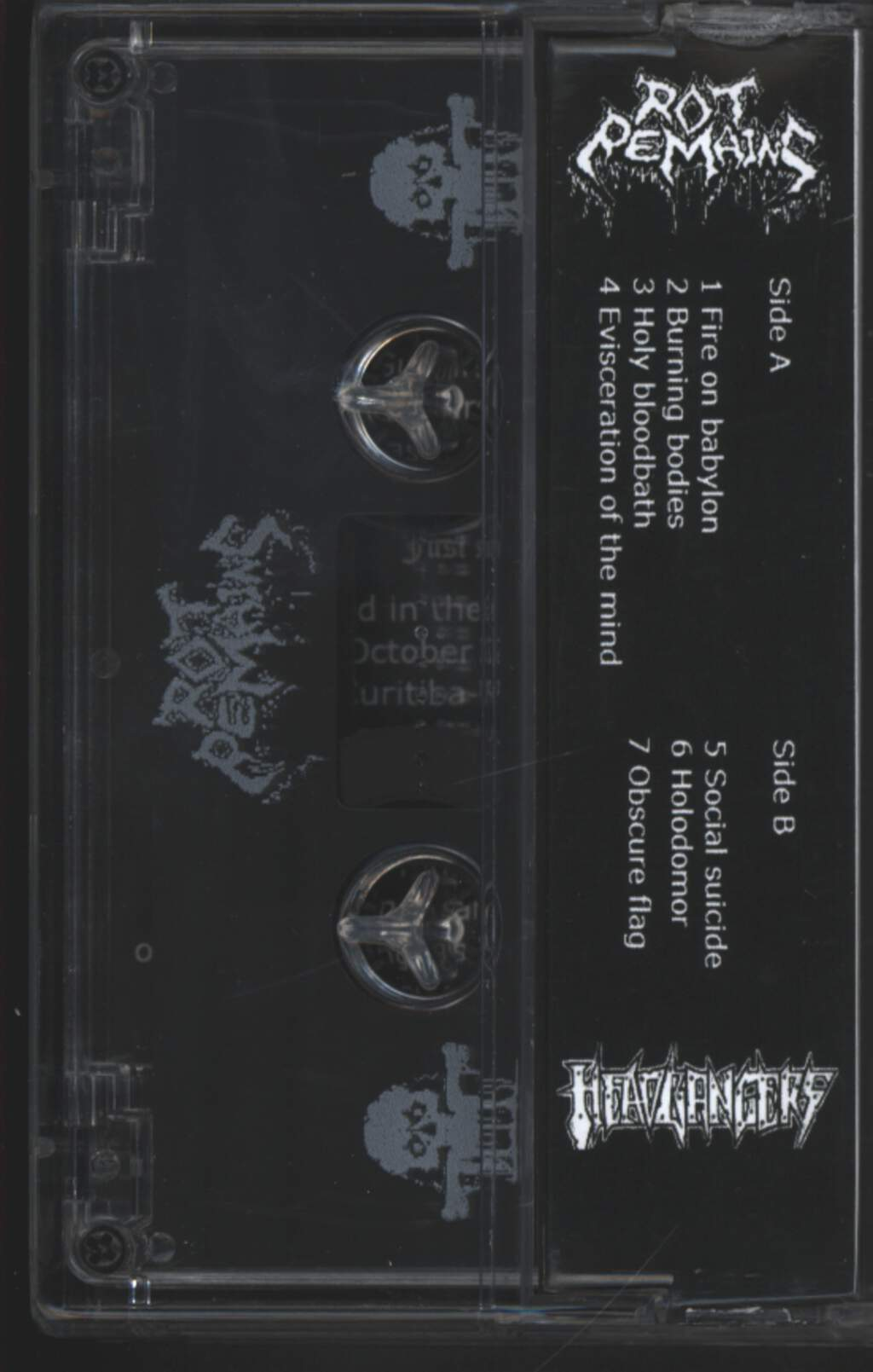 Rot Remains: Evisceration Of The Mind, Compact Cassette