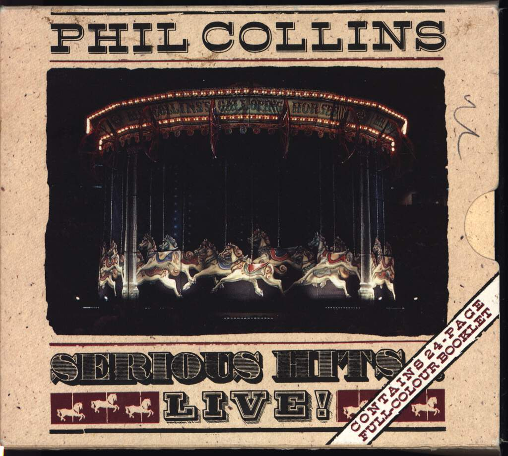 Phil Collins: Serious Hits...Live!, Compact Cassette