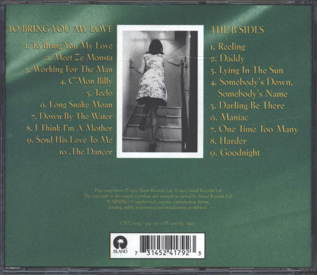 PJ Harvey: To Bring You My Love & The B Sides CD, CD
