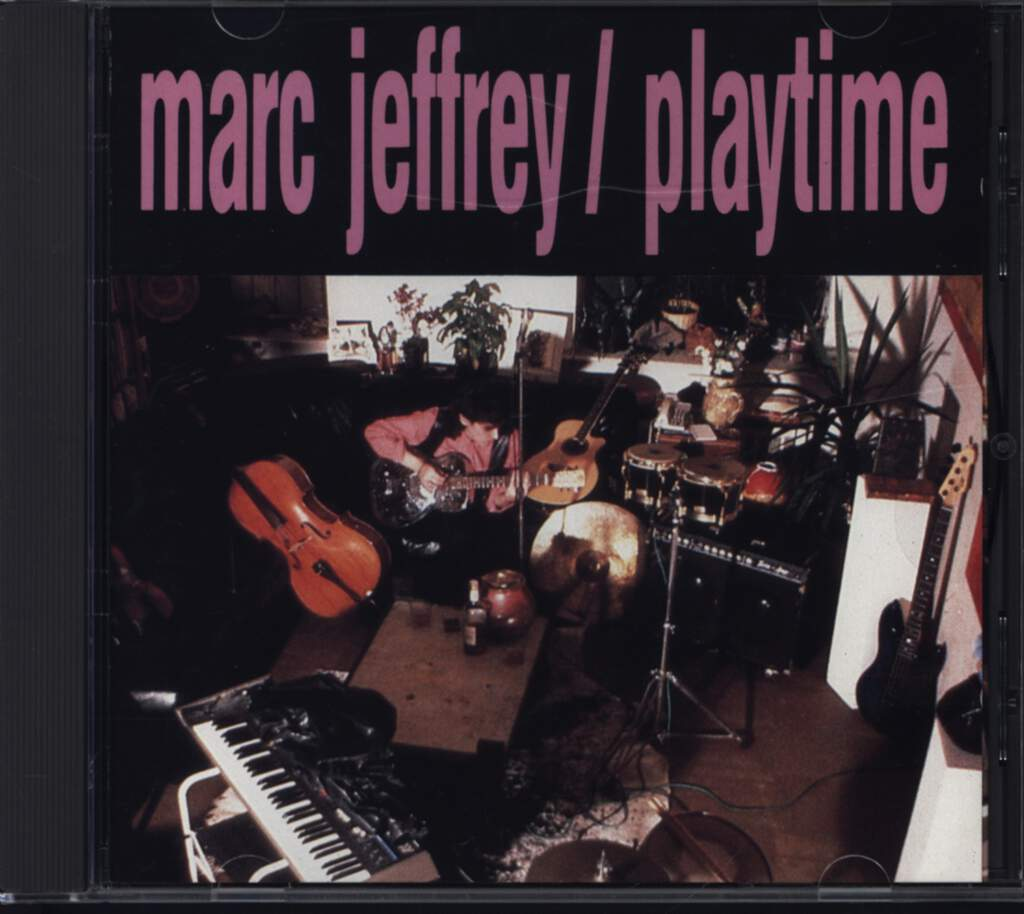 Marc Jeffrey: Playtime, CD