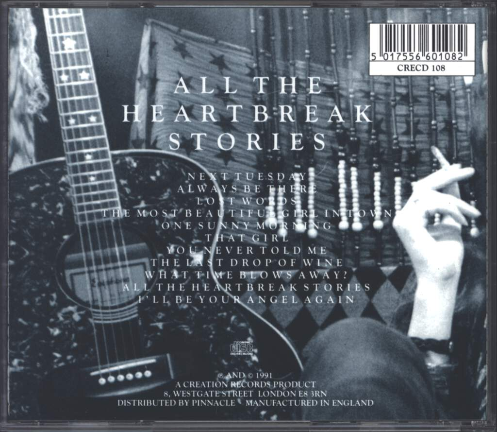 Dave Kusworth: All The Heartbreak Stories, CD
