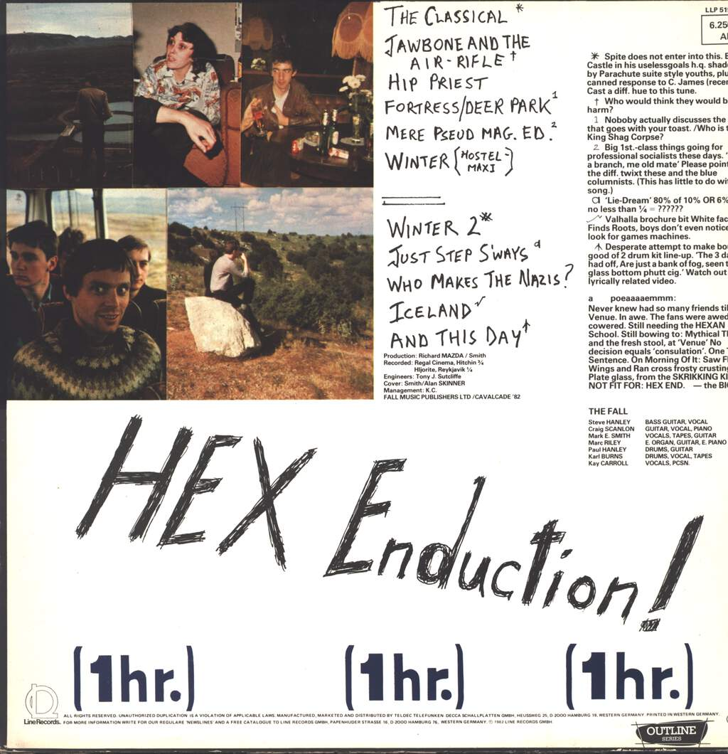 The Fall: Hex Enduction Hour, LP (Vinyl)