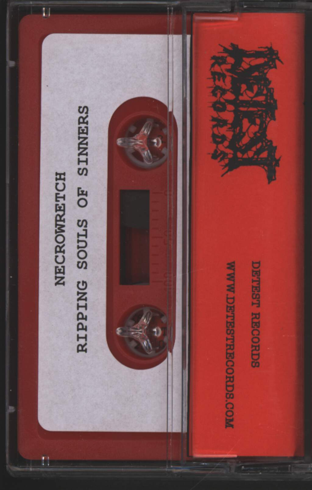 Necrowretch: Ripping Souls Of Sinners, Compact Cassette