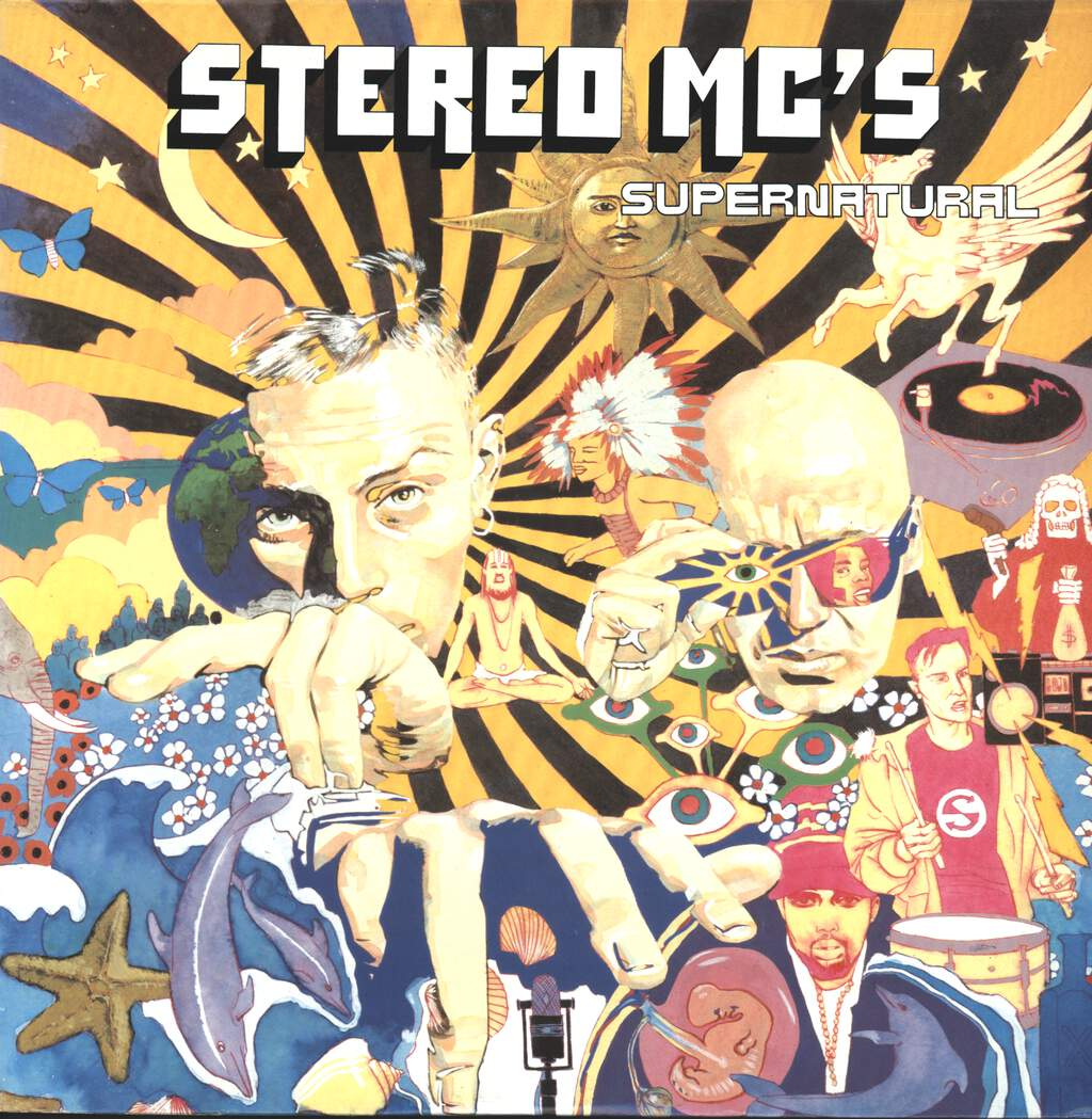 Stereo MC's: Supernatural / Ultimatum Break Beats, LP (Vinyl)