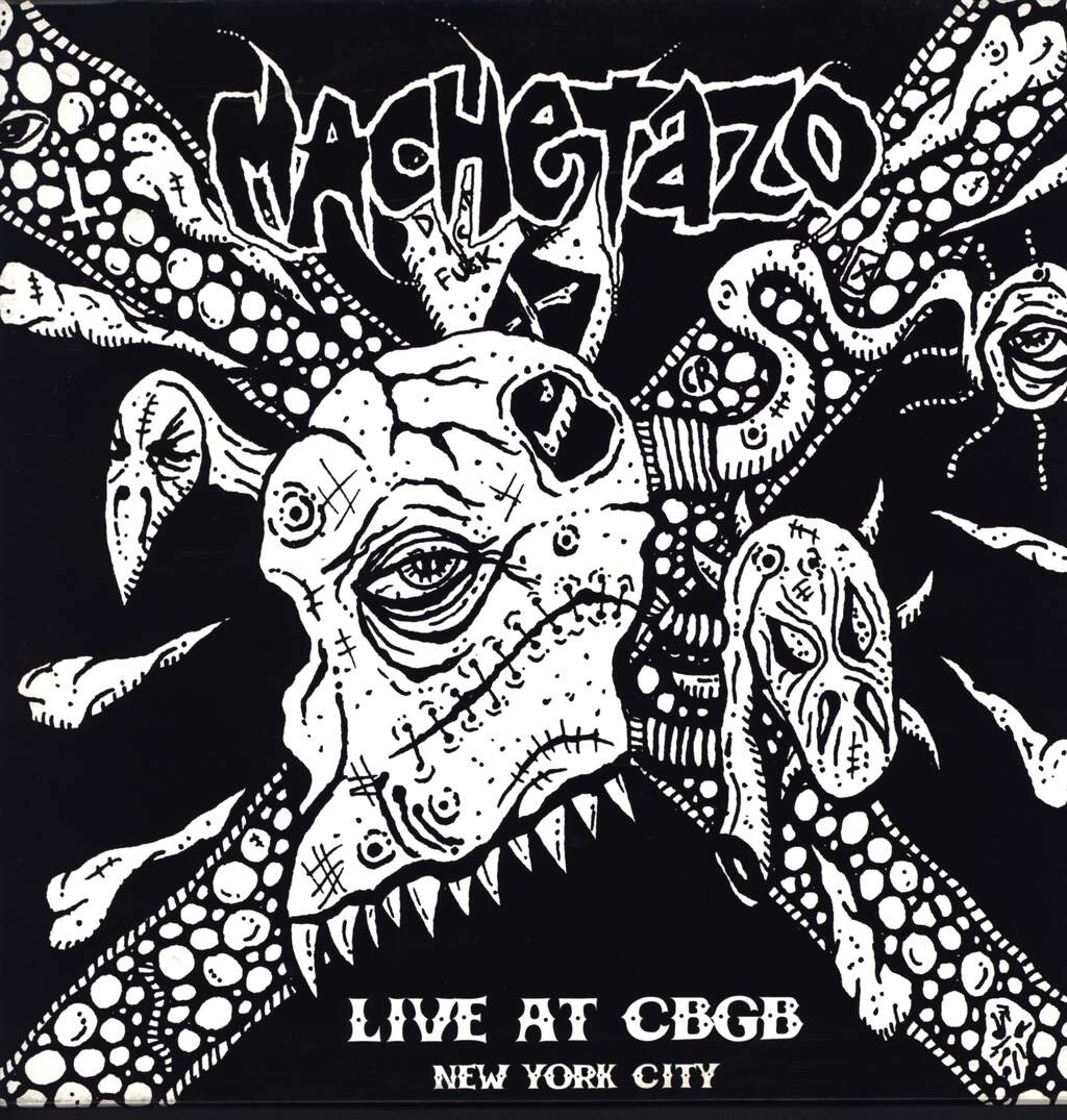 Machetazo: Live At CBGB - New York City, LP (Vinyl)