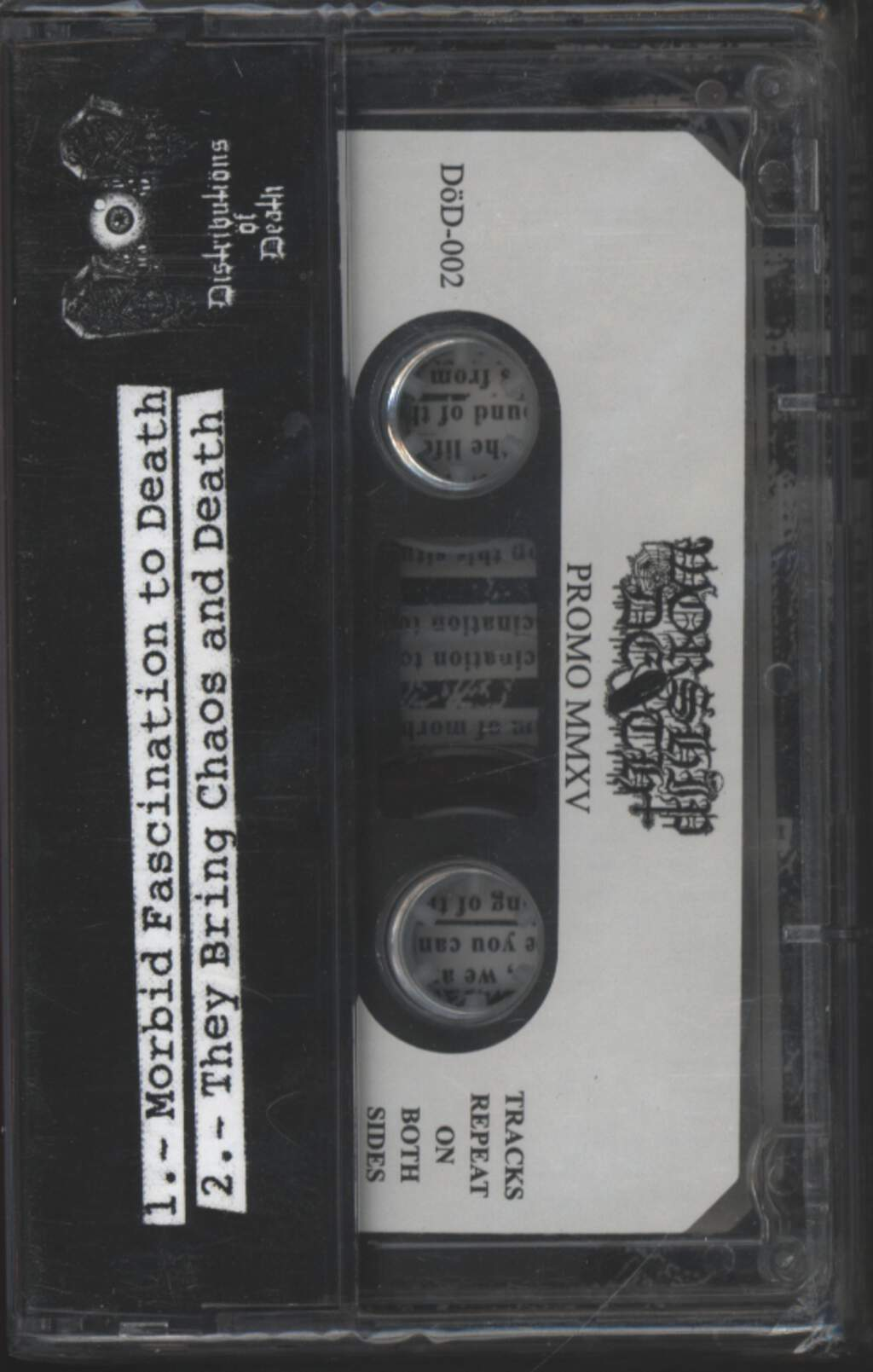 Worship Death: Promo MMXV, Compact Cassette