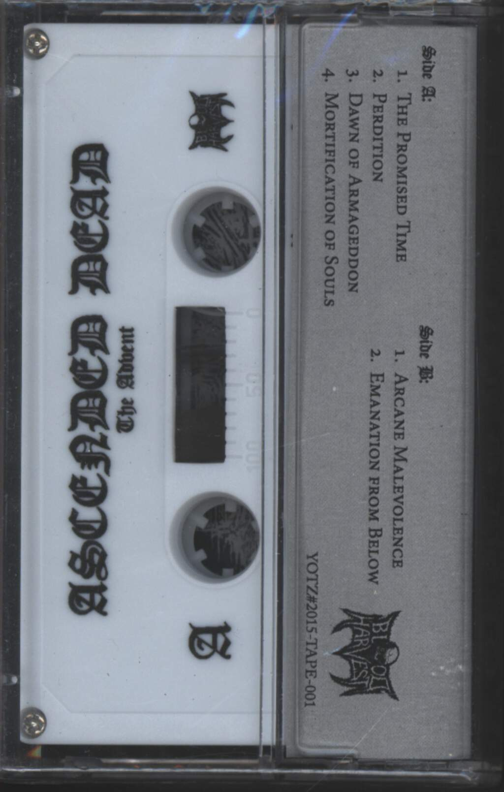 Ascended Dead: The Advent, Compact Cassette