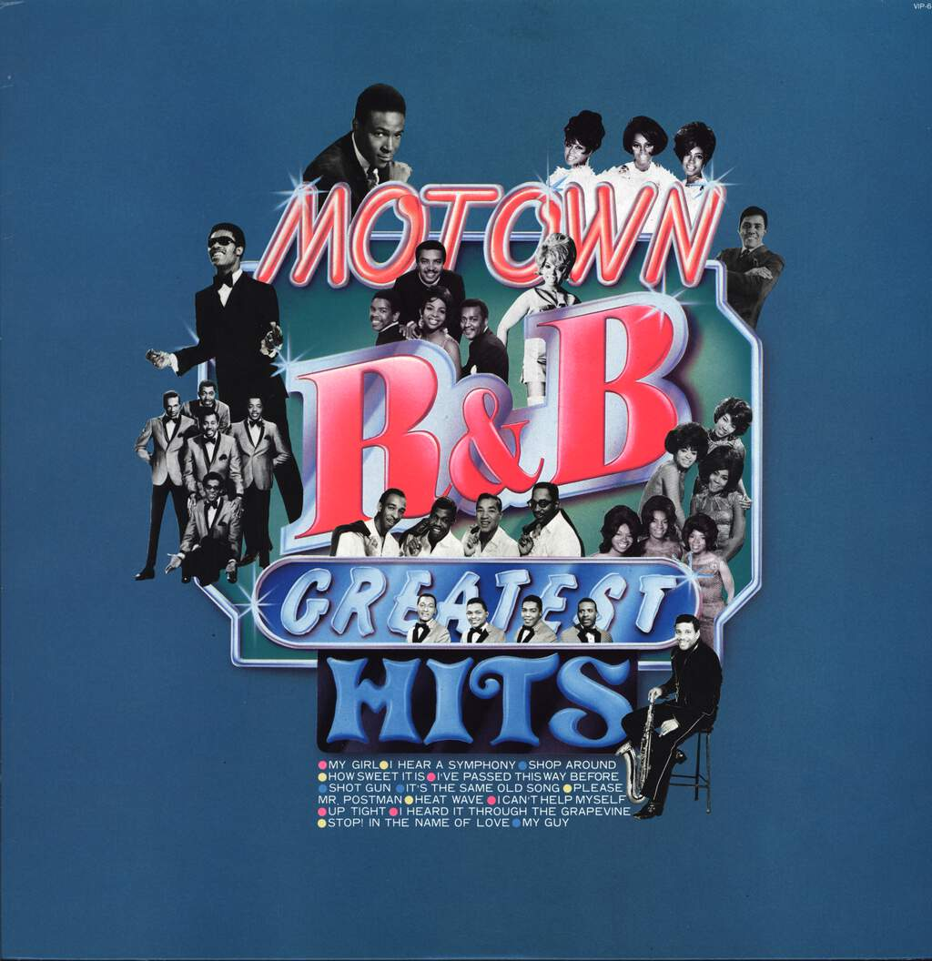 Various: Motown R&B Greatest Hits, LP (Vinyl)