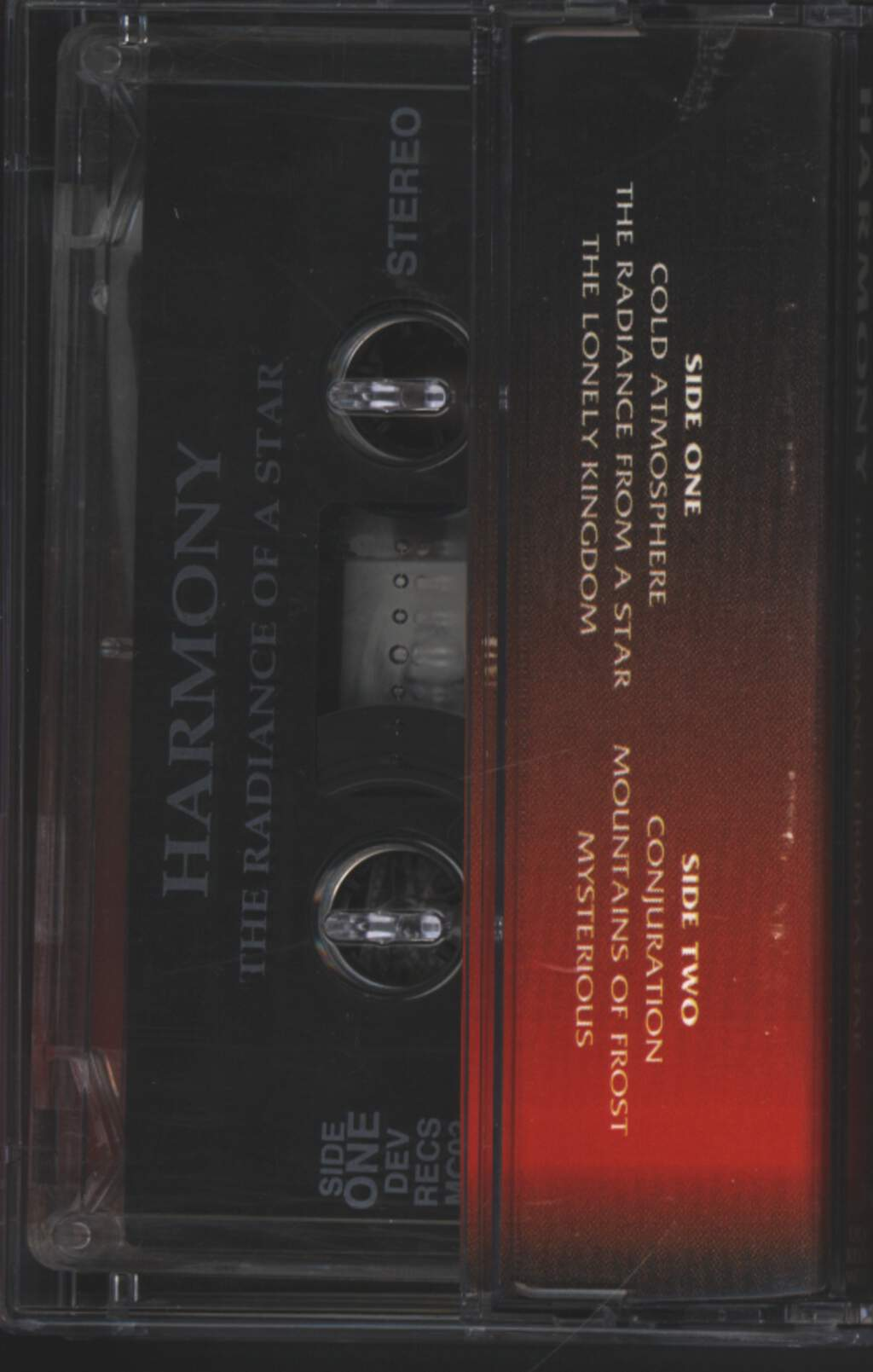 Harmony: The Radiance From A Star, Compact Cassette