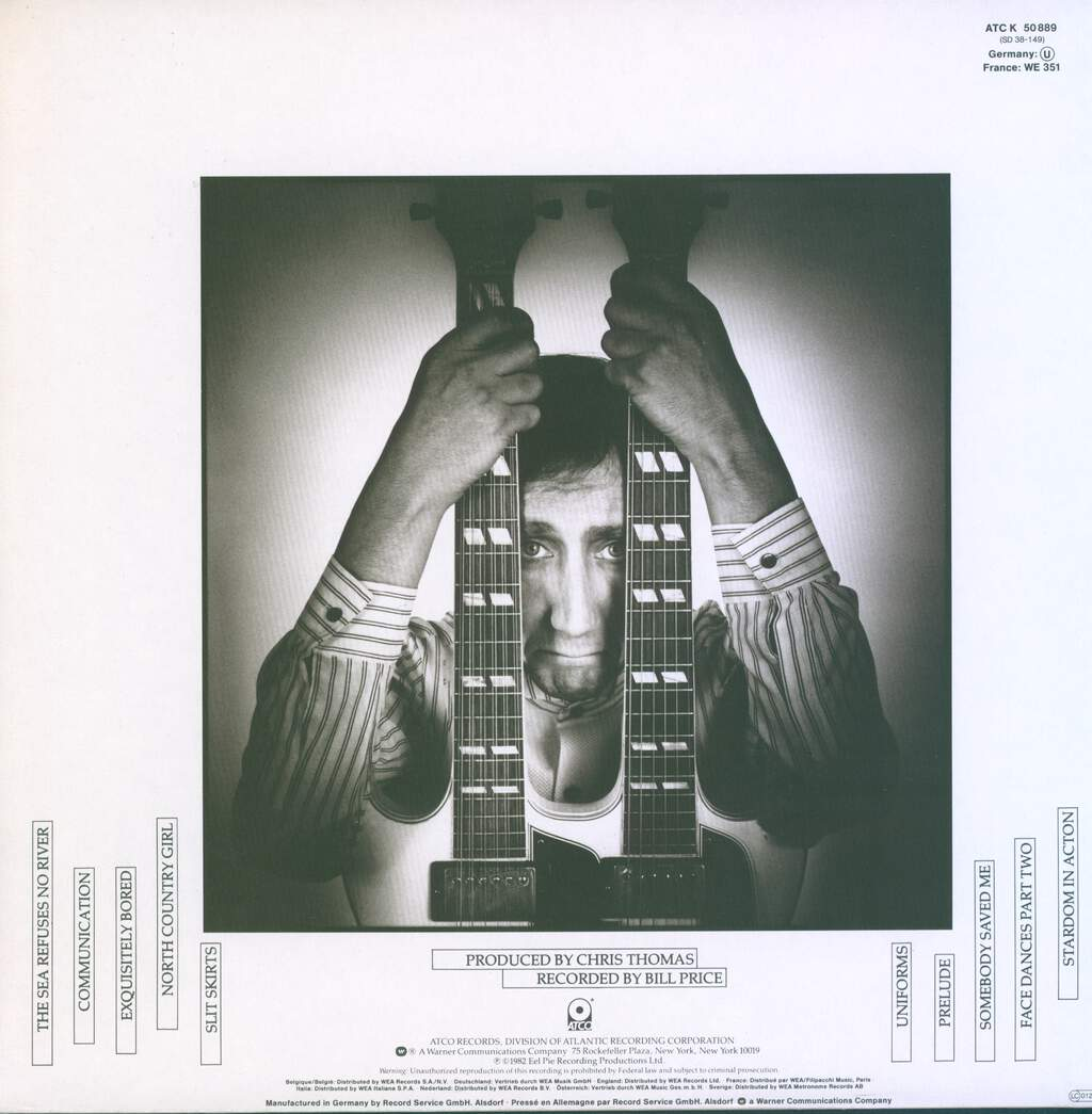 Pete Townshend: All The Best Cowboys Have Chinese Eyes, LP (Vinyl)