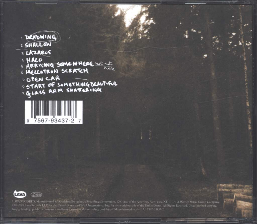 Porcupine Tree: Deadwing, CD