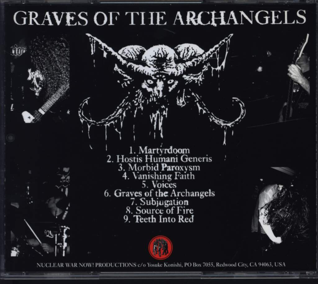 Dead Congregation: Graves Of The Archangels, CD