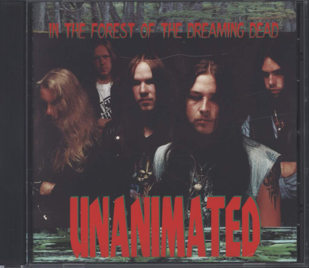 Unanimated: In The Forest Of The Dreaming Dead, CD