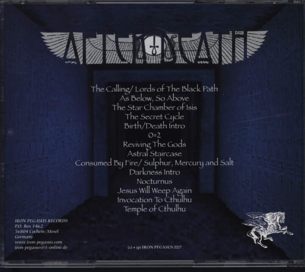 After Death: Retronomicon, CD