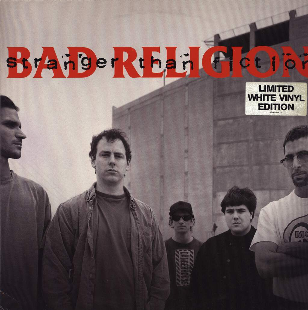 Bad Religion: Stranger Than Fiction, LP (Vinyl)