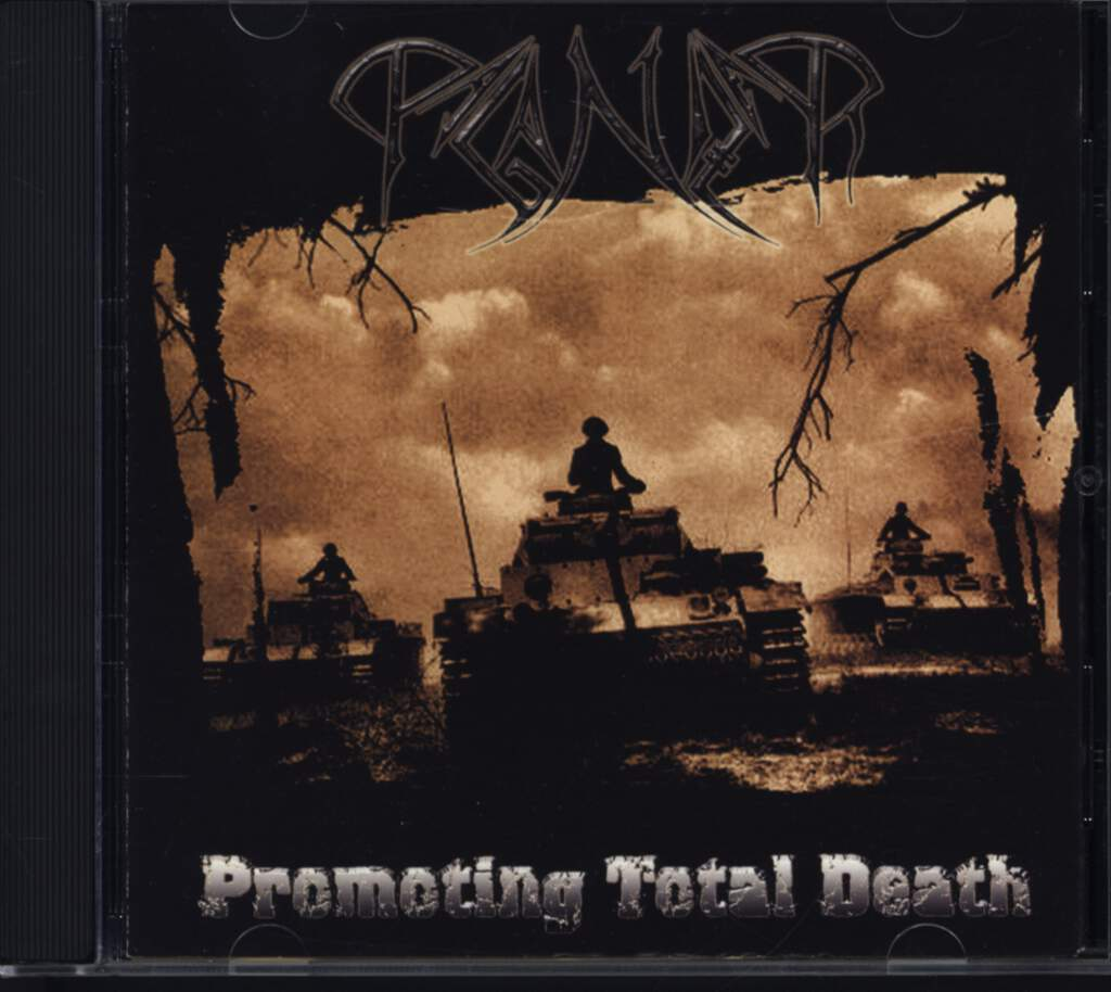 Paganizer: Promoting Total Death, CD