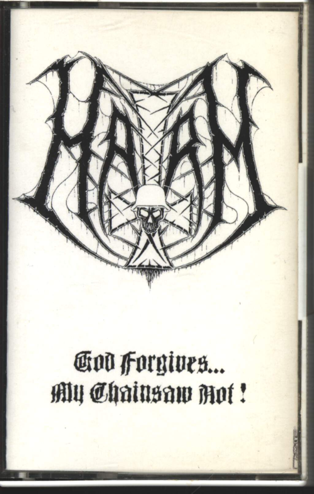 Harm: God Forgives...My Chainsaw Not!, Compact Cassette