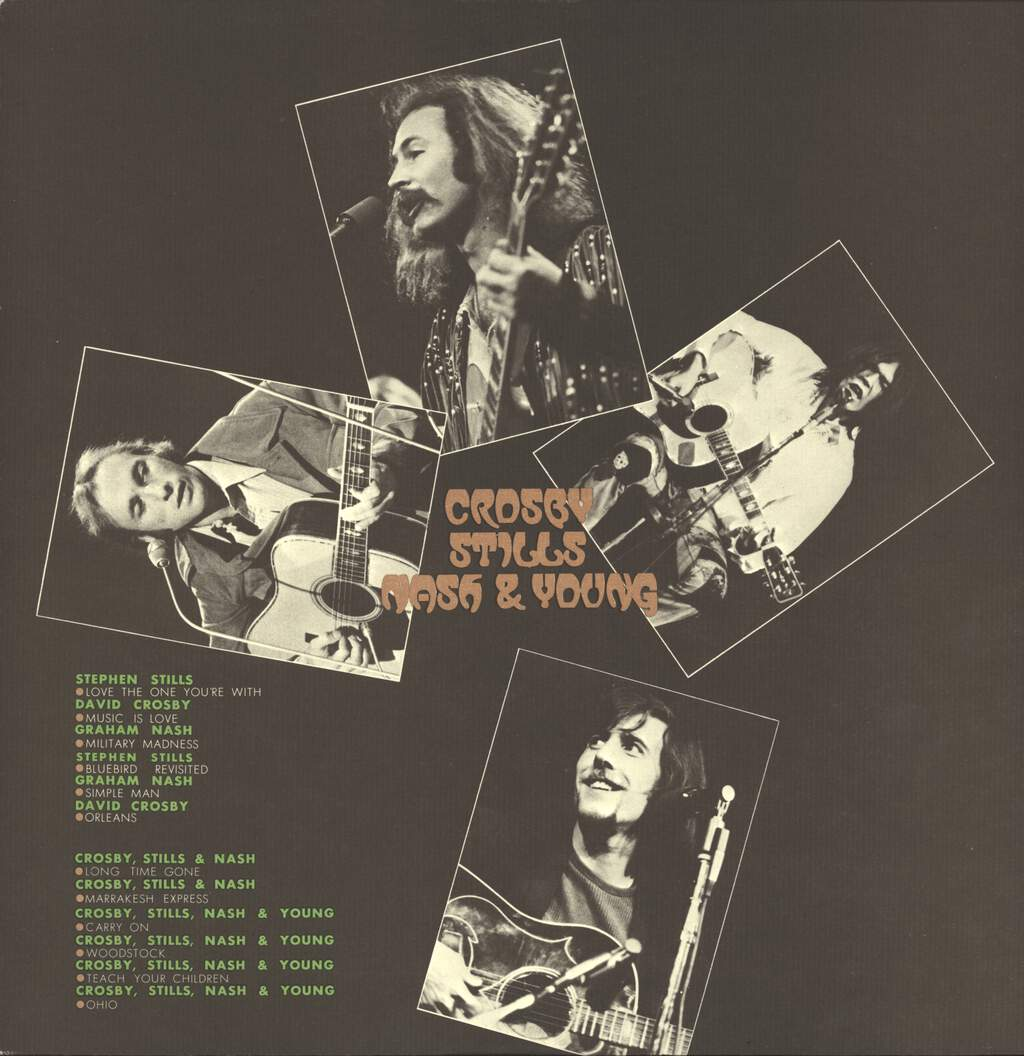 Crosby, Stills, Nash & Young: All Together, LP (Vinyl)