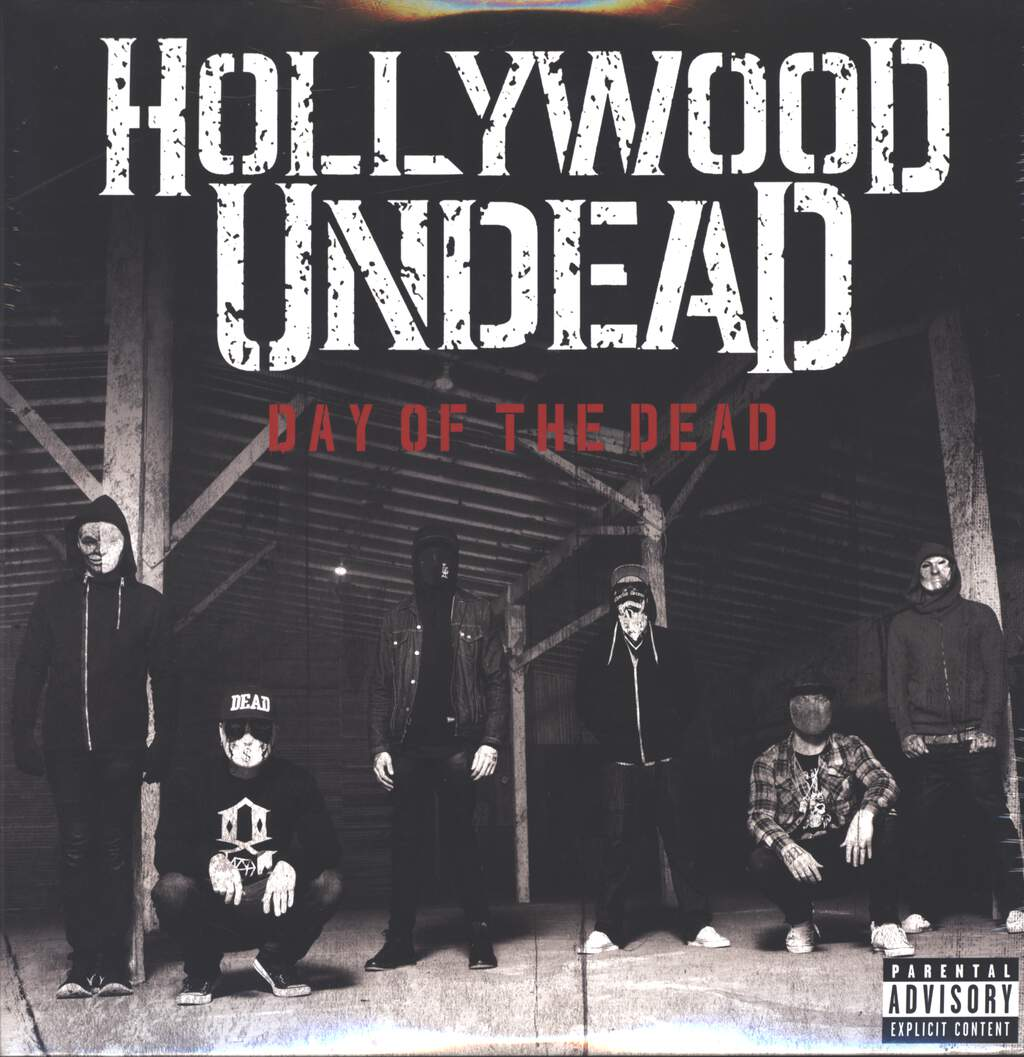 Hollywood Undead: Day Of The Dead, LP (Vinyl)