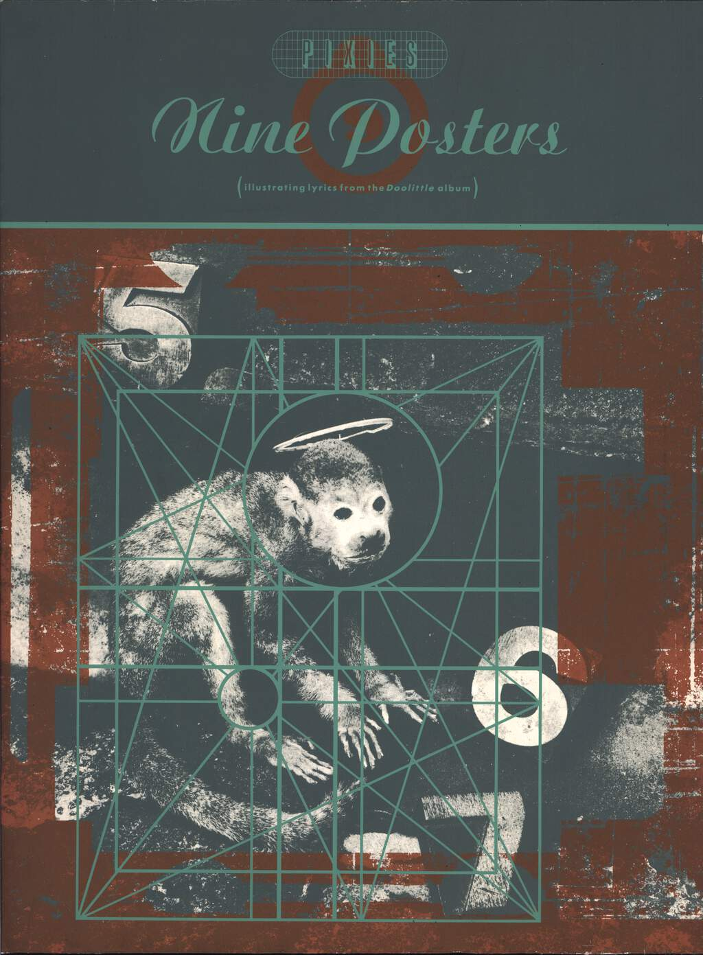 Pixies: Nine Posters (illustrating lyrics from the Doolittle album), Book