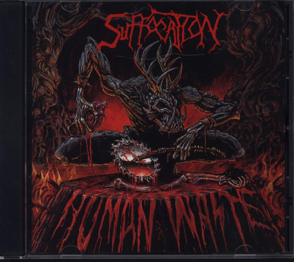 Suffocation: Human Waste, Mini CD