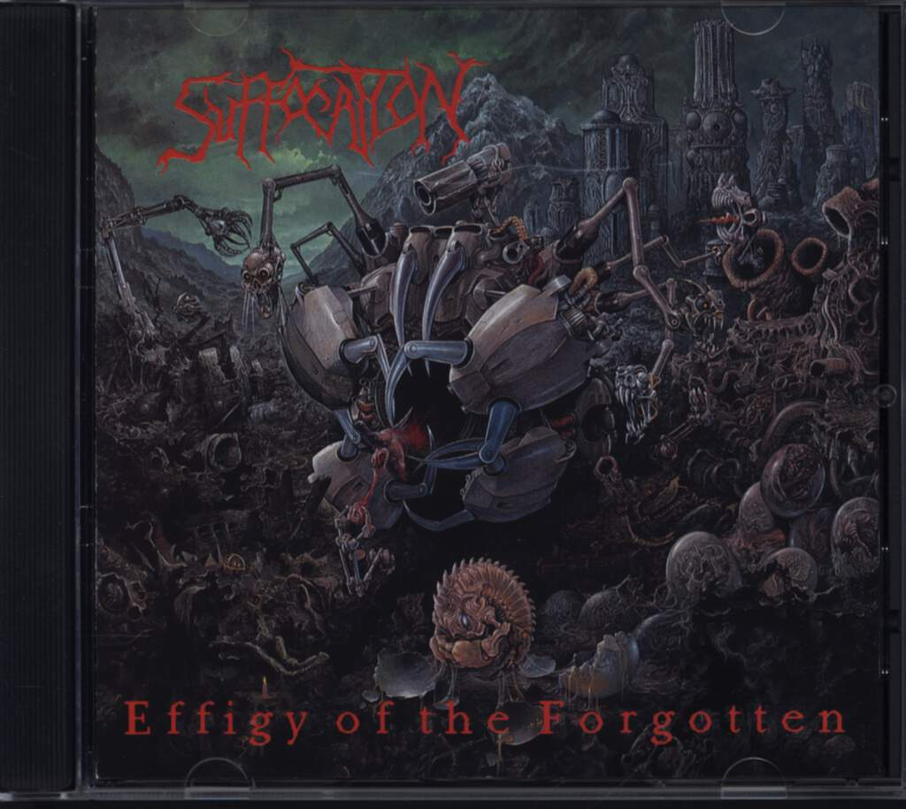 Suffocation: Effigy Of The Forgotten, CD