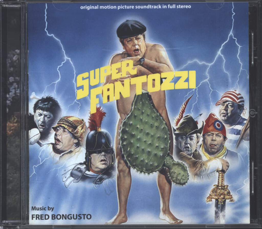 Fred Bongusto: Superfantozzi (Original Motion Picture Score), CD