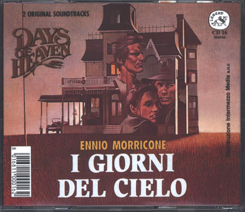 Ennio Morricone: Two Mules For Sister Sara (Gli Avvoltoi Hanno Fame) /  Days Of Heaven (I Giorni Del Cielo) (Original Soundtrack), CD