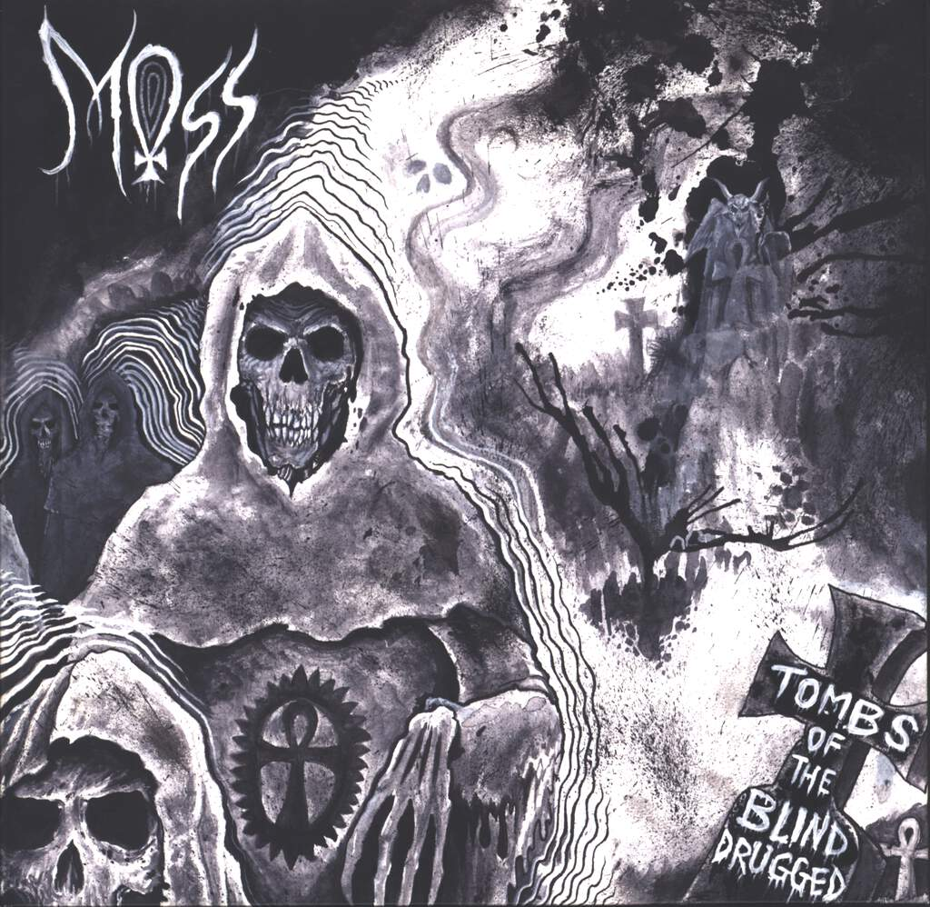 "Moss: Tombs Of The Blind Drugged, 10"" Vinyl EP"