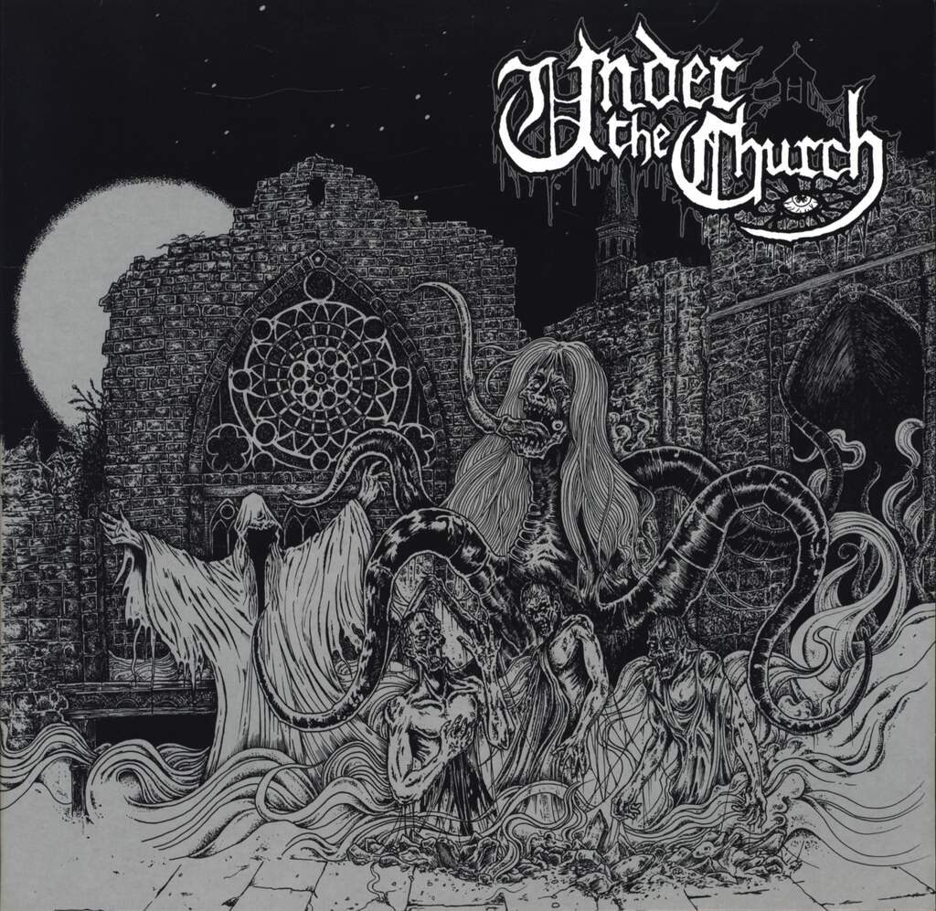 "Under The Church: Under The Church, 10"" Vinyl EP"