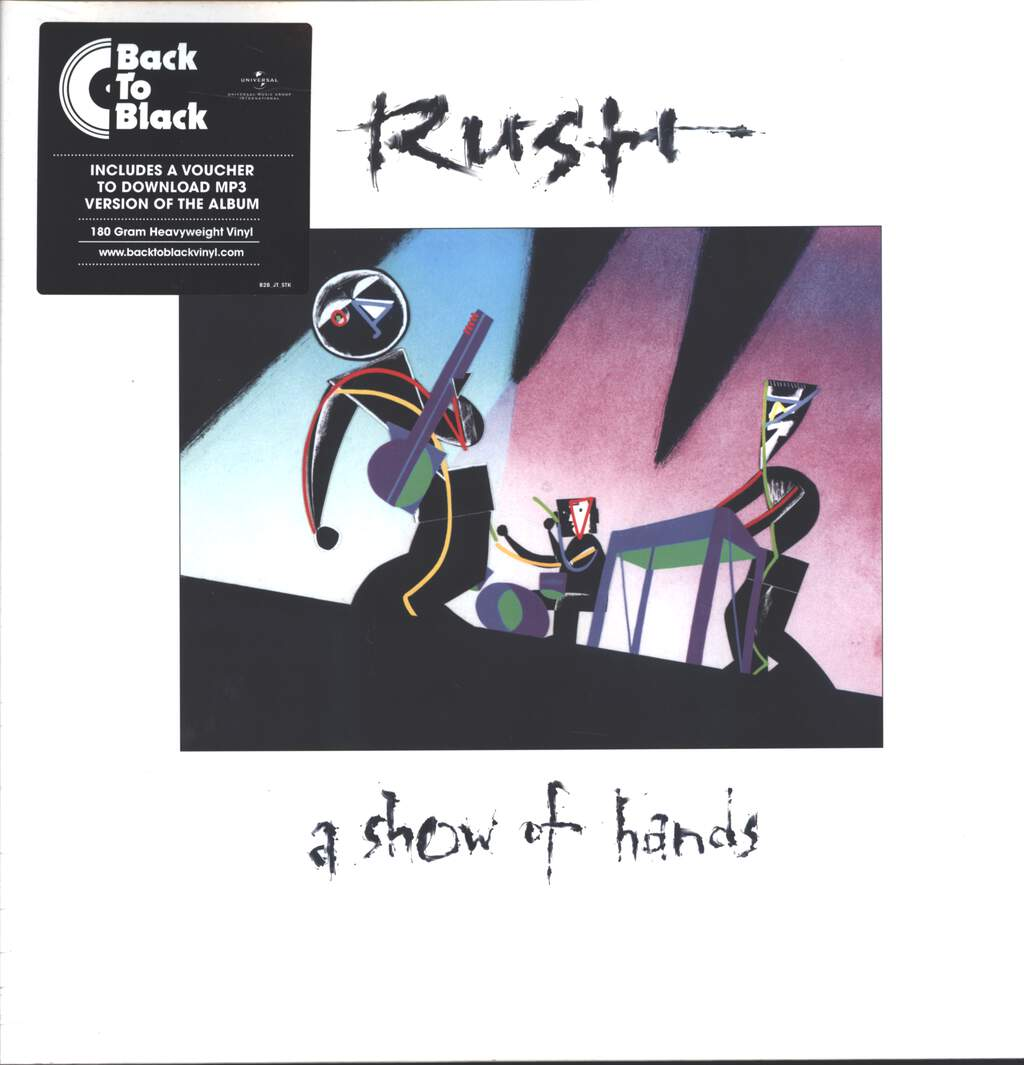 Rush: A Show Of Hands, LP (Vinyl)