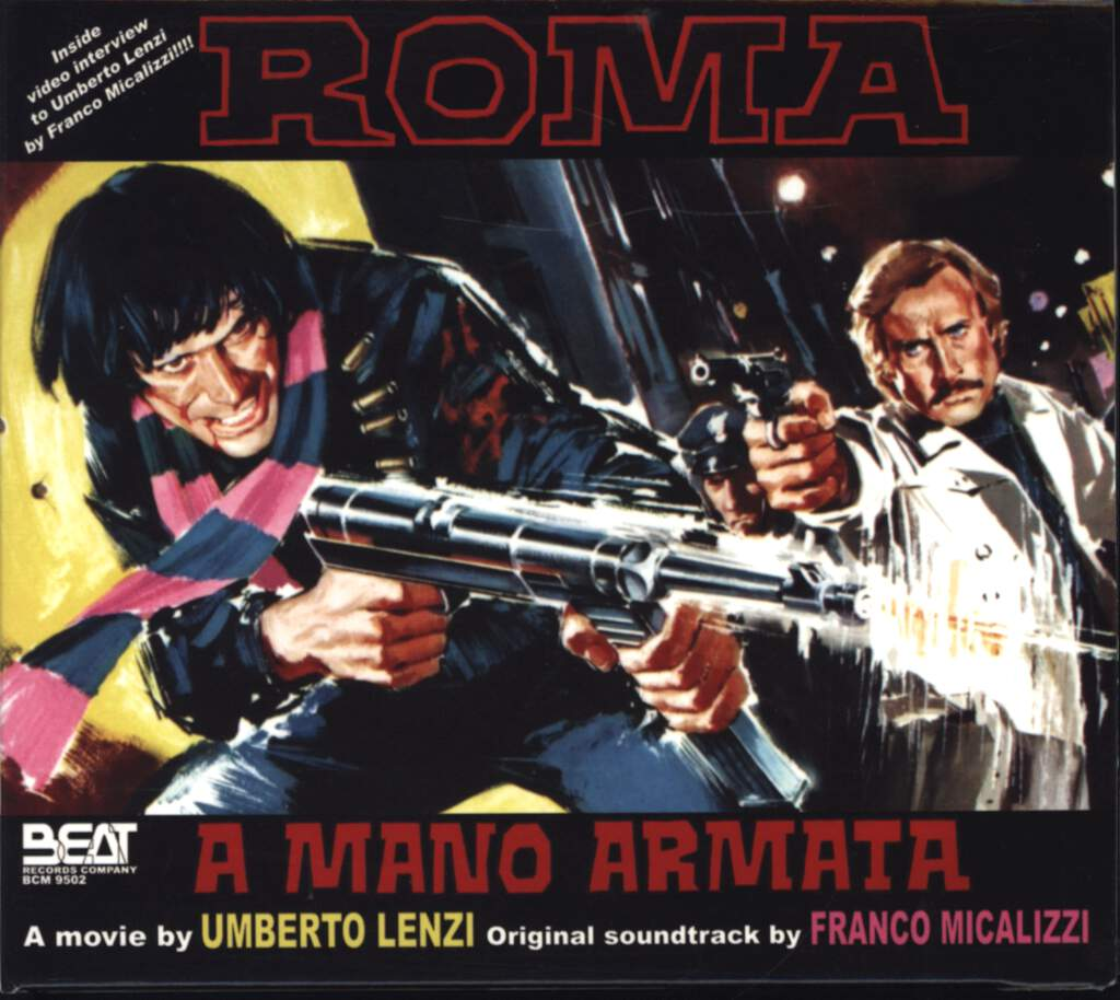 Franco Micalizzi: Roma A Mano Armata (Original Soundtrack), CD