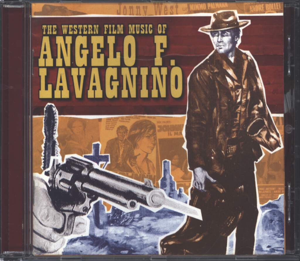 Angelo Francesco Lavagnino: The Western Film Music Of Angelo F. Lavagnino, CD