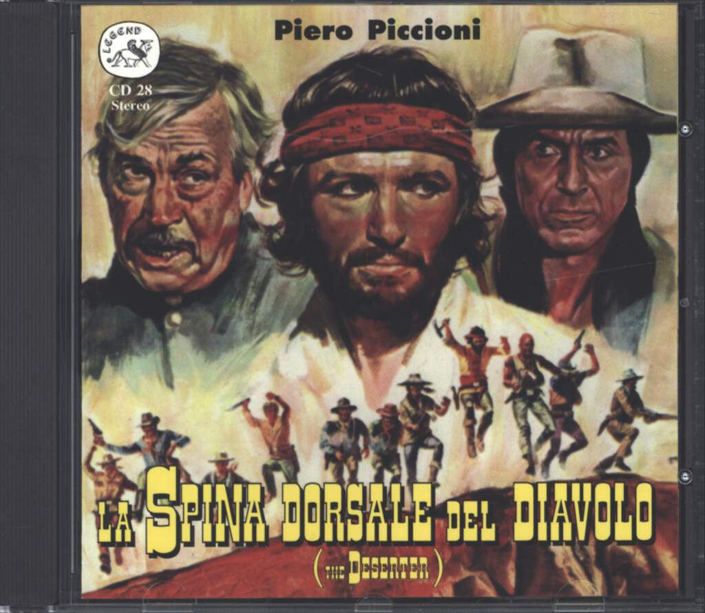 Piero Piccioni: La Spina Dorsale Del Diavolo (The Deserter) (Original Soundtrack Recording), CD