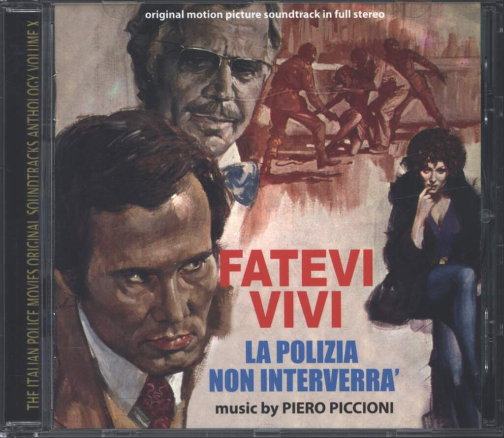 Piero Piccioni: Fatevi Vivi La Polizia Non Interverrà (Original Soundtrack In Full Stereo), CD