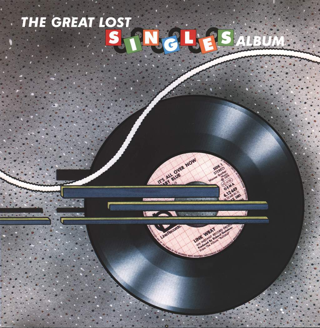 Various: The Great Lost Singles Album, LP (Vinyl)