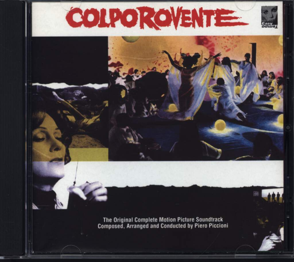 Piero Piccioni: Colpo Rovente (The Original Complete Motion Picture Soundtrack), CD