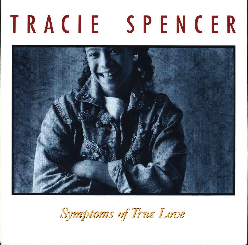 "Tracie Spencer: Symptoms Of True Love, 7"" Single (Vinyl)"