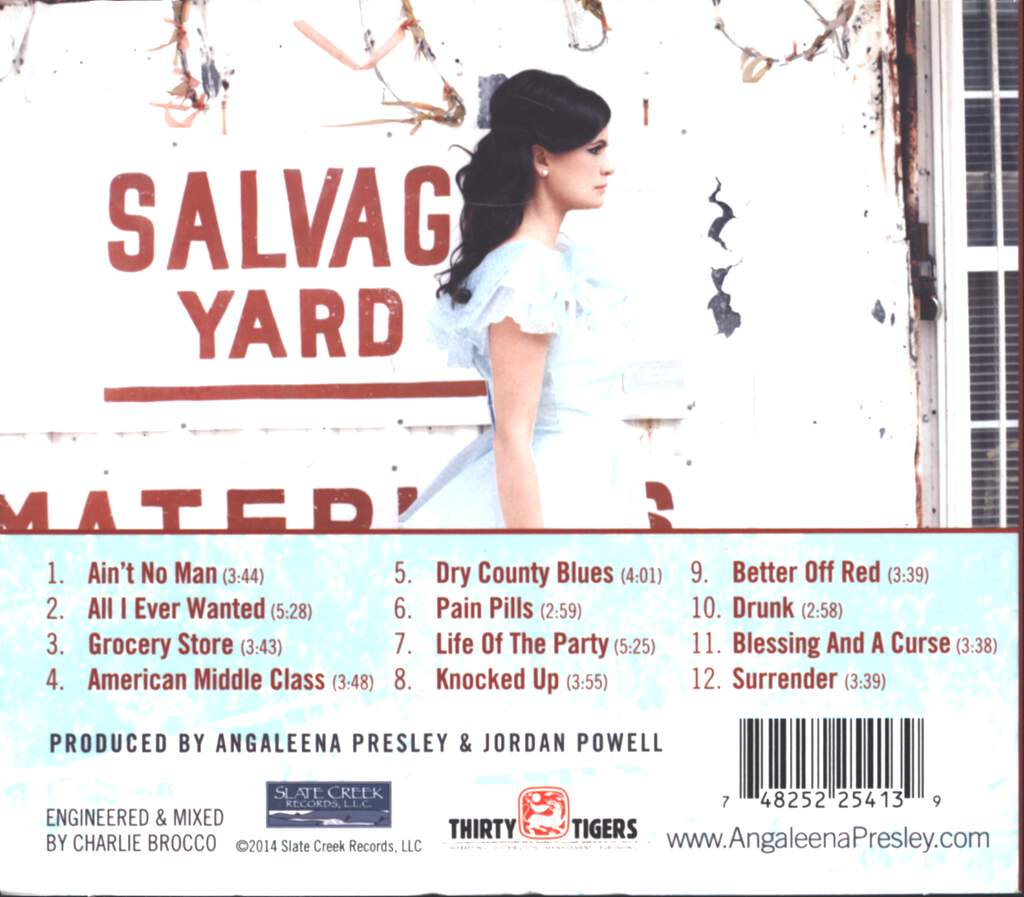 Angaleena Presley: American Middle Class, CD