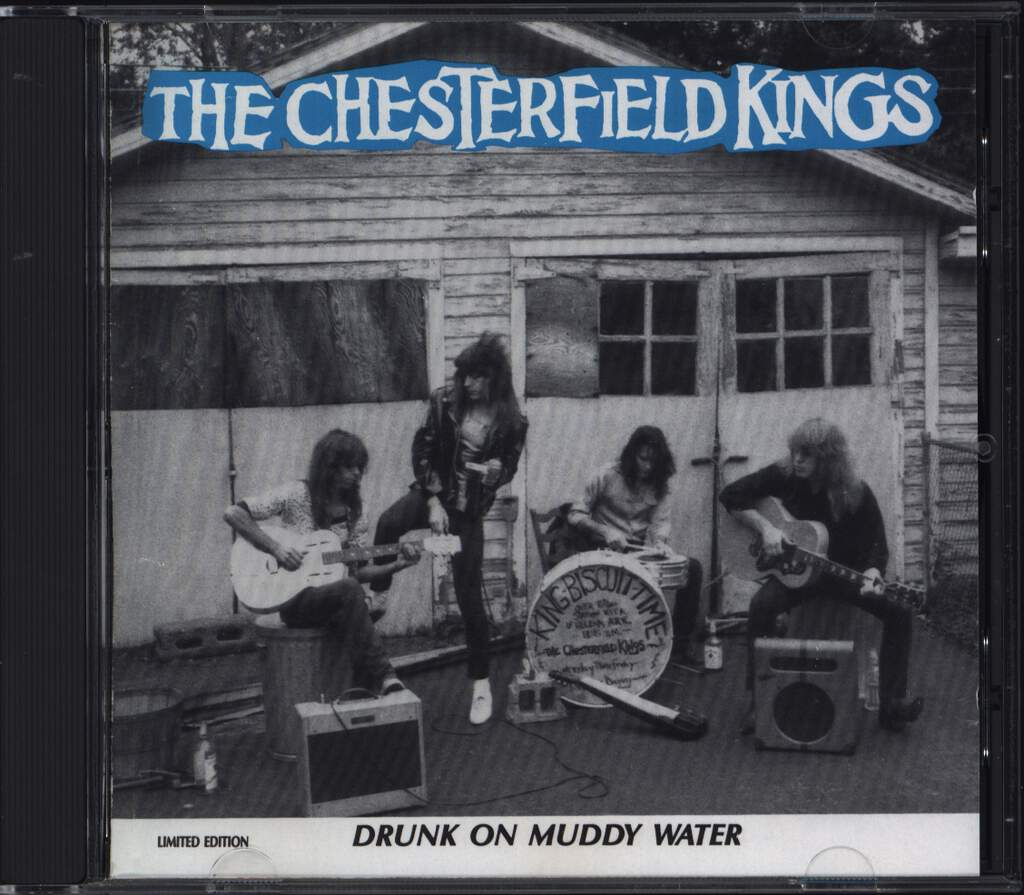 The Chesterfield Kings: Drunk On Muddy Water, CD